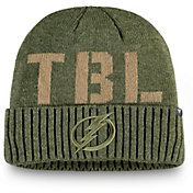 NHL Men's Tampa Bay Lightning Modern Utility Cuff Knit Beanie
