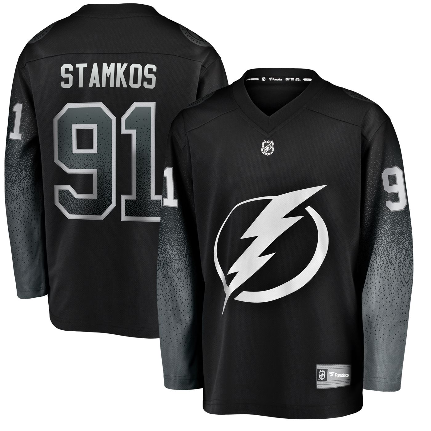 NHL Men's Tampa Bay Lightning Steven Stamkos #91 Breakaway Alternate Replica Jersey