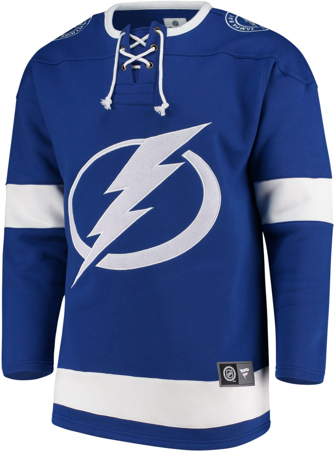 NHL Men's Tampa Bay Lightning Breakaway Blue Sweatshirt