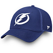 NHL Men's Tampa Bay Lightning Primary Logo Snapback Adjustable Hat