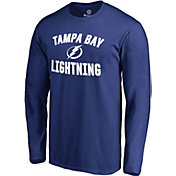NHL Men's Tampa Bay Lightning Victory Arch Royal Long Sleeve Shirt