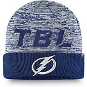 NHL Men's Tampa Bay Lightning Clutch Cuffed Knit Beanie