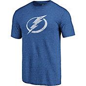 NHL Men's Tampa Bay Lightning Throwback Royal T-Shirt