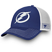 NHL Men's Tampa Bay Lightning Primary Logo Royal Snapback Adjustable Hat