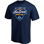 NHL Men's 2020 NHL All-Star Game Logo Navy T-Shirt