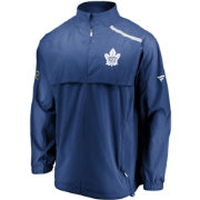 NHL Men's Toronto Maple Leafs Authentic Pro Rinkside Blue Full-Zip Jacket