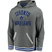 NHL Men's Toronto Maple Leafs Upper Class Heather Grey Pullover Hoodie