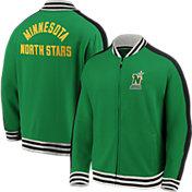 NHL Men's Minnesota North Stars Varsity Green Full-Zip Track Jacket