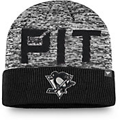 NHL Men's Pittsburgh Penguins Clutch Cuffed Knit Beanie