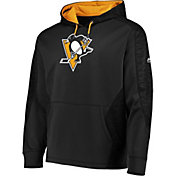 Majestic Men's Pittsburgh Penguins Armor Black Pullover Hoodie