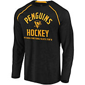 NHL Men's Pittsburgh Penguins Destination Black Long Sleeve Shirt