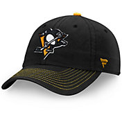 NHL Men's Pittsburgh Penguins Fundamental Black Adjustable Hat