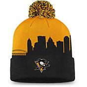 NHL Men's Pittsburgh Penguins Hometown Black Pom Knit Beanie