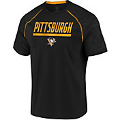 NHL Men's Pittsburgh Penguins Mission Black T-Shirt