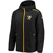 NHL Men's Pittsburgh Penguins Rinkside Premier Black Full-Zip Jacket