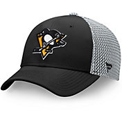 NHL Men's Pittsburgh Penguins Speed Black Flex Hat