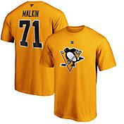 NHL Men's Pittsburgh Penguins Evgeni Malkin #71 Black Player T-Shirt