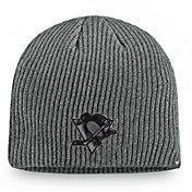 NHL Men's Pittsburgh Penguins Marled Tech Knit Beanie