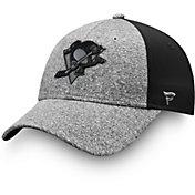 NHL Men's Pittsburgh Penguins Marled Adjustable Hat