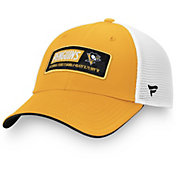 NHL Men's Pittsburgh Penguins Iconic Mesh Adjustable Hat