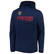 NHL Men's Florida Panthers Travel Navy Pullover Sweatshirt