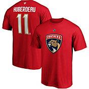 NHL Men's Florida Panthers Jonathan Huberdeau #11 Red Player T-Shirt