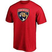 NHL Men's Florida Panthers Primary Logo Red T-Shirt