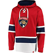 NHL Men's Florida Panthers Power Play Red Pullover Hoodie