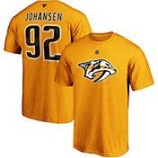 NHL Men's Nashville Predators Ryan Johansen #92 Gold Player T-Shirt