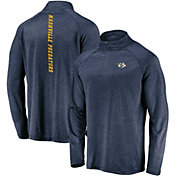 Product Image · NHL Men s Nashville Predators Contend Navy Heathered  Quarter-Zip Pullover 18cb865ee
