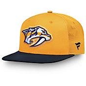 NHL Men's Nashville Predators Iconic Snapback Adjustable Hat