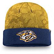 NHL Men's Nashville Predators Iconic Cuff Knit Beanie