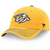 NHL Men's Nashville Predators Fundamental Gold Adjustable Hat