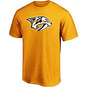 NHL Men's Nashville Predators Primary Logo Gold T-Shirt