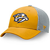 NHL Men's Nashville Predators Speed Gold Flex Hat