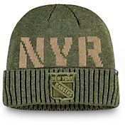 NHL Men's New York Rangers Modern Utility Cuff Knit Beanie