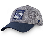 NHL Men's New York Rangers Clutch Flex Hat