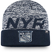 NHL Men's New York Rangers Clutch Cuffed Knit Beanie