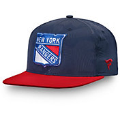 NHL Men's New York Rangers Iconic Snapback Adjustable Hat