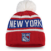 NHL Women's New York Rangers Pom Knit Beanie