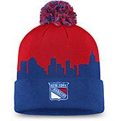 NHL Men's New York Rangers Hometown Royal Pom Knit Beanie