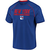 NHL Men's New York Rangers Mission Royal T-Shirt