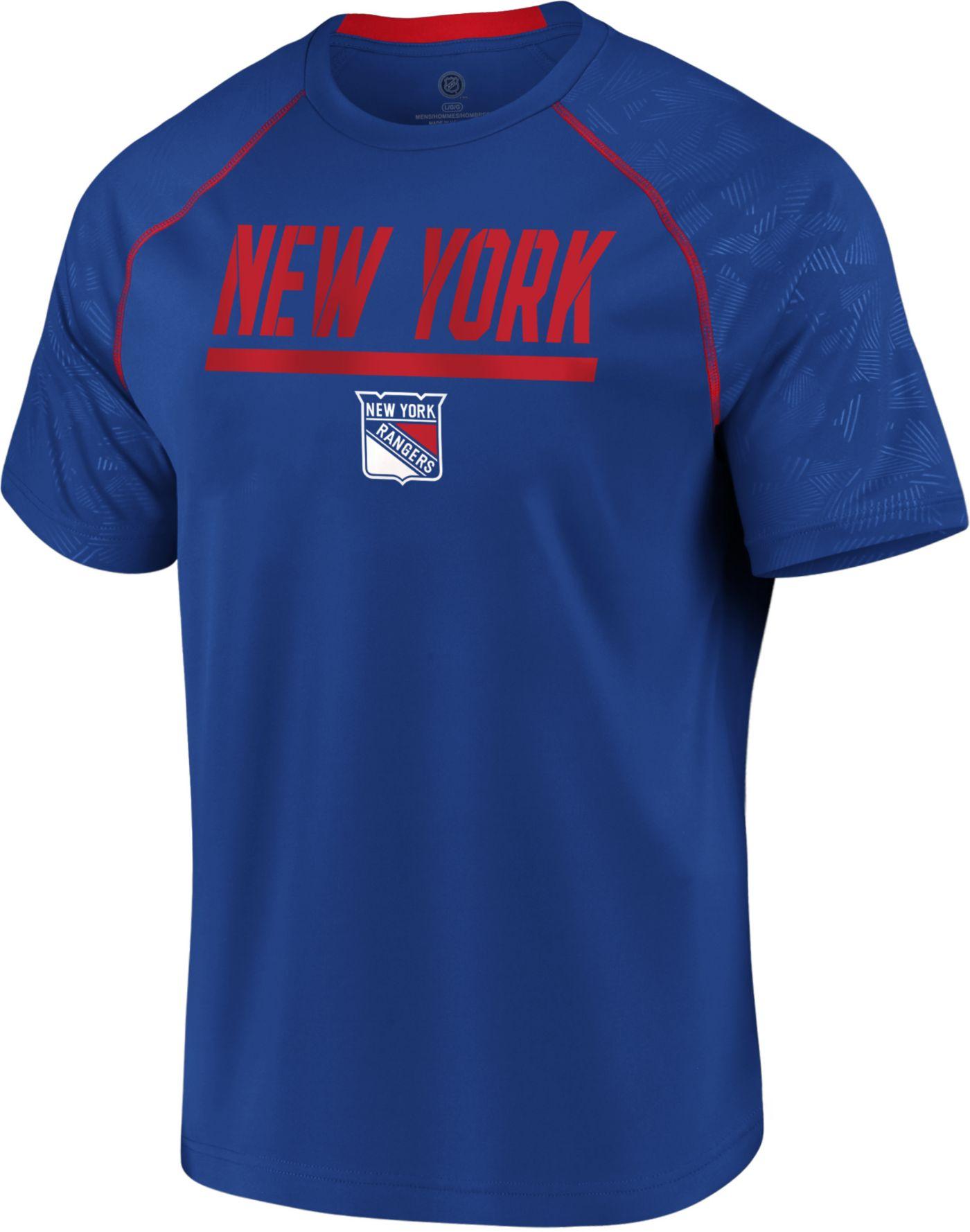 NHL Men's New York Rangers Mission Royal T-Shirt