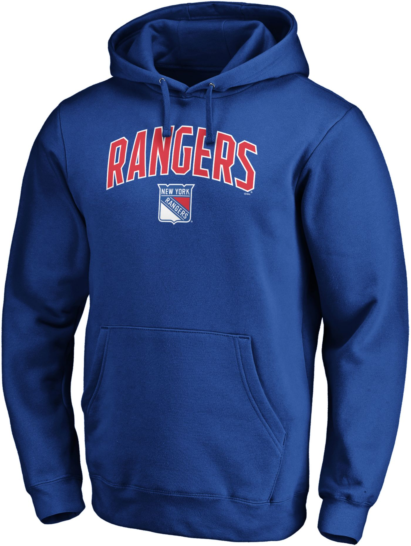 NHL Men's New York Rangers Engage Royal Pullover Hoodie