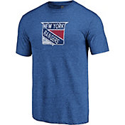 NHL Men's New York Rangers Throwback Royal T-Shirt