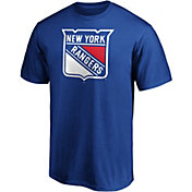 NHL Men's New York Rangers Primary Logo Royal T-Shirt