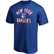 NHL Men's New York Rangers Arc Stack Royal T-Shirt
