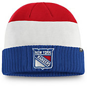 NHL Men's New York Rangers Alternate Cuff Knit Beanie