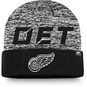 NHL Men's Detroit Red Wings Clutch Cuffed Knit Beanie
