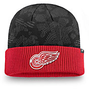 NHL Men's Detroit Red Wings Iconic Cuff Knit Beanie